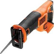 BLACK+DECKER BDCR18 2,2 cm Czarny, Pomarańczowy, Piła szablasta Orange/Czarny, 2,2 cm, 3000 spm, 19,7 m/s2, 90,5 dB, 79,5 dB, Czarny, Pomarańczowy