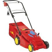 WOLF-Garten 4009269303538 bez kategorii, kosiarka do trawy Czerwony/Żółty, Kosiarka do trawnika typu push, 40 cm, 2,5 cm, 8 cm, 55 L, Prąd przemienny