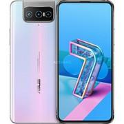 """ASUS ZenFone ZS671KS-2B017EU 16,9 cm (6.67"""") 8 GB 256 GB Dual SIM 5G USB Type-C Biały Android 10.0 5000 mAh, Komórka Biały, 16,9 cm (6.67""""), 8 GB, 256 GB, 64 MP, Android 10.0, Biały"""