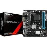 ASRock 760GM-HDV p?yta g?ówna Socket AM3+ Micro ATX AMD 760G AMD, Socket AM3+, AMD Athlon II X2,AMD Athlon II X3,AMD Athlon II X4,AMD Phenom II X2,AMD Phenom II X3,AMD Phenom II..., DDR3-SDRAM, DIMM, 1066,1333,1800 Mhz