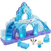Fisher-Price Little People Frozen Elsa's Ice Palace, Pionek Zamek, 1,5 rok/lata, Niebieski, 5 rok/lata, Ludzie, 2 szt.