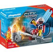 PLAYMOBIL City Action 70291 zestaw figurek, Zabawki konstrukcyjne Chłopak, dziewczyna