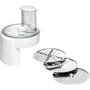 Bosch MUZ4DS4 element robota kuchennego Młynek do żywności, Attachment Biały, Młynek do żywności, Biały, Stal nierdzewna, BOSCH MUM 4, 180 mm, 180 mm