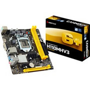 Biostar H110MHV3 płyta główna LGA 1151 (Socket H4) Micro ATX Intel H110 Intel, LGA 1151 (Socket H4), Intel Pentium, 91 W, DDR3-SDRAM, DIMM
