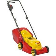 WOLF-Garten S 3800 E Kosiarka do trawnika typu push Czerwony, Żółty Prąd przemienny, kosiarka do trawy Czerwony/Żółty, Kosiarka do trawnika typu push, 350 m2, 38 cm, 38 l, 4 szt., 3260 RPM