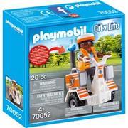 PLAYMOBIL City Life 70052 zestaw zabawkowy, Zabawki konstrukcyjne Biały/Orange, Akcja/Przygoda, 4 rok/lata, Chłopak, dziewczyna, Wielobarwność, Wewnątrz, Ludzie
