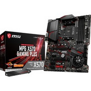 MSI MPG X570 Gaming Plus płyta główna Socket AM4 ATX AMD X570 Czarny, AMD, Socket AM4, AMD Ryzen, DDR4-SDRAM, DIMM, 1866,2133,2400,2666 Mhz