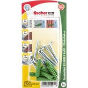 fischer SX GREEN 6x30 WH K, Dowel Zielony