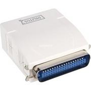 Digitus DN-13001-1 serwer druku Biały Ethernet LAN, Serwer wydruku Biały, Biały, LAN, Status, Tajwan, Ethernet LAN, IEEE 802.3,IEEE 802.3u, 10,100 Mbit/s