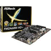Płyta główna ASRock FM2A68M-HD+, A68H, SFM2+, VGA, GLAN, SATA3, USB3, RAID, DDR3, CROSSFIRE (FM2A68M-HD+) Darmowy odbiór w 15 miastach!