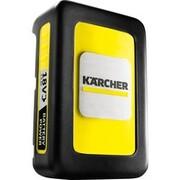 Kärcher 2.445-034.0 bateria/ładowarka do elektronarzędzi, Akumulator Bateria, Litowo-jonowa (Li-Ion), 2,4 Ah, 18 V, Kärcher, Czarny, Żółty
