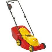 WOLF-Garten S 3200 E Kosiarka do trawnika typu push Żółty Prąd przemienny, kosiarka do trawy Czerwony/Żółty, Kosiarka do trawnika typu push, 150 m2, 32 cm, 30 l, 4 szt., 3260 RPM
