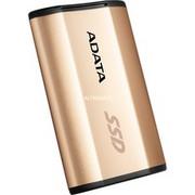 ADATA SE730H 256 GB Złoto, Dysk SSD Złota, 256 GB, USB Type-C, 3.2 Gen 2 (3.1 Gen 2), 500 MB/s, Złoto