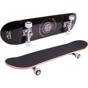 HUDORA 12173, Skateboard Czarny/Biały