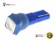 Żarówka 24V T5 R5 LED 1x SMD 5050 W1,2W Niebieski