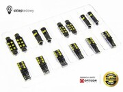 Fiat Tipo - Zestaw oświetlenia kabiny LED Standard - 4 żarówki
