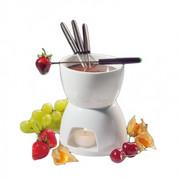 Zestaw do fondue biały 15,5 cm Cilio CI-104417 CILIO