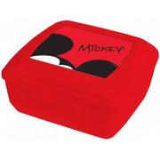 Pojemnik śniadaniowy DISNEY Mickey 14.5 x 13cm Czerwony