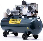 JAGER GERMAN 300L 7.5kW 1200L/Min 400V SPRĘŻARKA POWIETRZA TŁOKOWA KOMPRESOR TŁOKOWY OLEJOWY Mocna Rzecz