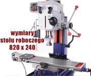WIERTARKA SŁUPOWA WIERTARKO FREZARKA DO METALU MAKTEK ZX7045 45mm EWIMAX