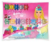 Klocki CLICS - M-22 Glitter woreczek