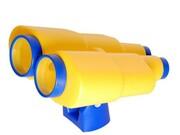 Lornetka na plac zabaw żółta