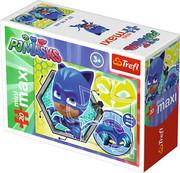 TREFL Puzzle miniMaxi 20 el. PJ MASKS Pidżamersi KOTBOY (21041) TREFL