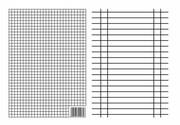 LINIUSZEK A5 DWUSTRONNY KRATKA LINIA (09306) Interdruk