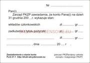 Informacja o stanie konta [Pu/2-31-2]