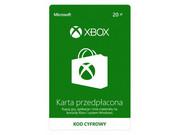 MICROSOFT Karta przedpłacona Xbox 20 PLN Karta przedpłacona Xbox 20 PLN MICROSOFT