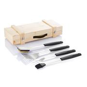 Zestaw do grilla w drewnianej skrzynce - XD Design - XDP422.122