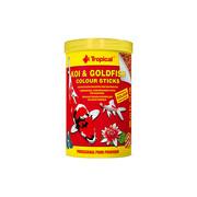KOI & GOLDFISH COLOUR STICKS pokarm dla ryb w stawach 1000ml/90g