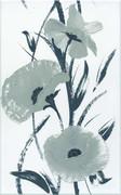 White flower dekor 25x40