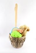 Zestaw Upominkowy Spa i Masaż Zestaw upominkowy spa i masaż w koszyczku Kwiat Lotosu