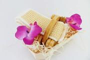 Zestaw SPA akcesoria do kąpieli i masażu 4 Kwiat Lotosu