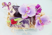 Zestaw Kosmetyków Naturalnych SPA LAWENDA Kwiat Lotosu