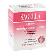 Sagella poligyn chusteczki do higieny intymnej 10 szt.