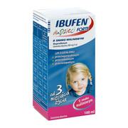 Ibufen dla dzieci FORTE o smaku malinowym 100 ml