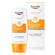 Eucerin Sun SPF 25 Żel-krem do opalania do skóry alergicznej 150 ml