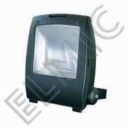 Naświetlacz LED Svart 100 100W 230V 4500K 110 st. COB IP65 naturalna / neutralna biel BERGMEN czarny, zasilacz MEAN WELL BERGMEN