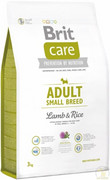 Brit Care Adult Small Breed Lamb&Rice 3kg