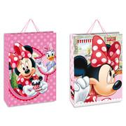 Minnie Mouse - Torebka na prezent, różowa