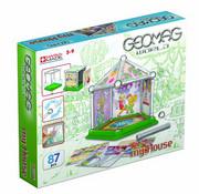 Geomag 380 - World Mini House, 85-teilig