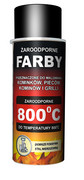 Farba w sprayu żaroodporna Hansa (400ml) Farby w sprayu Hansa