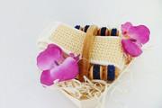 Zestaw SPA akcesoria do kąpieli i masażu 3 Kwiat Lotosu