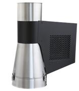 Generator ciągu kominowego GCKV150CH-B-K Darco