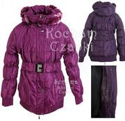 Kurtka zimowa, puchowy płaszczyk dla dziewczynki 164 cm produkt polski