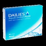 Soczewki kontaktowe Ciba Vision - DAILIES AquaComfort Plus (90 soczewek)