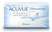 Acuvue Oasys Hydraclear Plus - 6 sztuk Johnson & Johnson