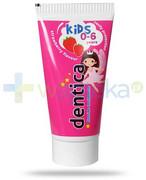 Tołpa Dentica Kids pasta do zębów dla dzieci 0-6 lat smak truskawkowy 50 ml Tołpa